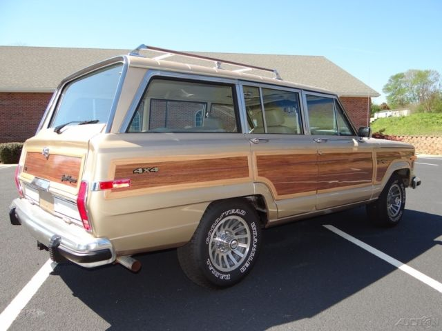 Technical Specifications Of Jeep Wagoneer 1990