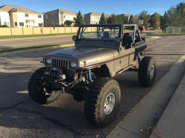 1990 Jeep Wrangler YJ Rock Crawler Buggy 6.0L LQ9 V8,Atlas ...