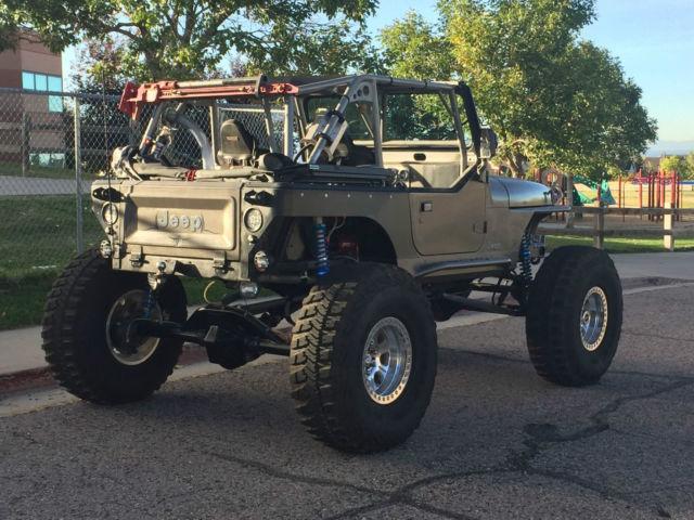 1990 Jeep Wrangler Yj Rock Crawler Buggy 6 0l Lq9 V8 Atlas