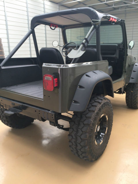 1990 jeep wrangler yj with 9 inch of lift frame off all new brand new motor for sale in. Black Bedroom Furniture Sets. Home Design Ideas