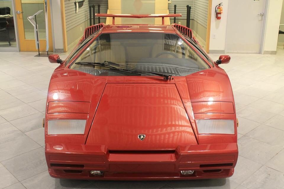 1990 Lamborghini Countach 1 Owner With Only 3100kms For