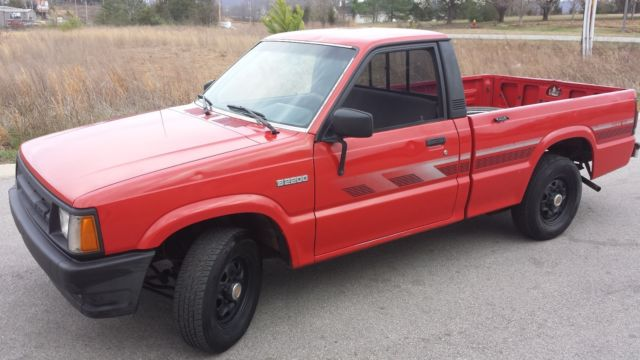 1990 Mazda B2200 Truck For Sale Photos Technical