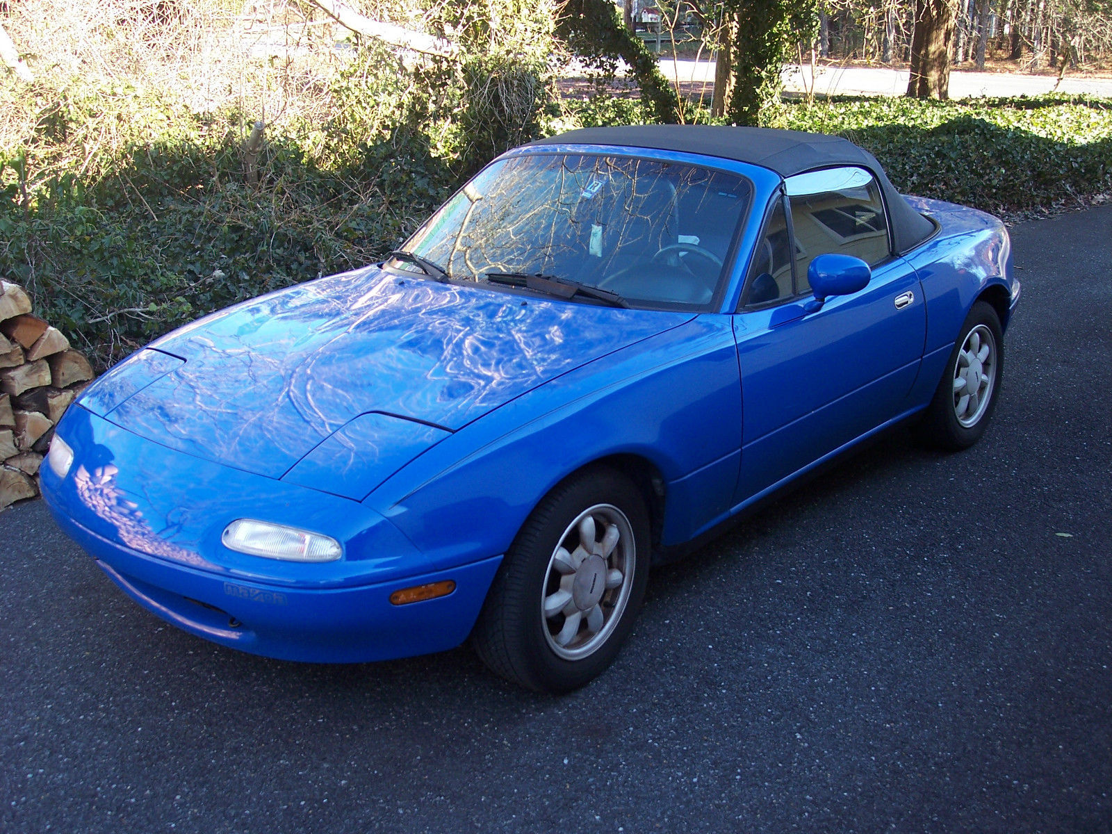1990 mazda miata base convertible 2 door 1 6l for sale in bethany beach delaware united states. Black Bedroom Furniture Sets. Home Design Ideas
