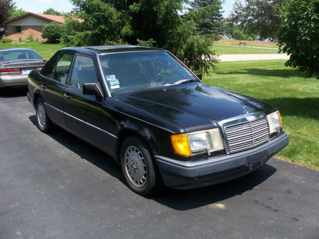 1990 mercedes 300 e no reserve low miles price for Low price mercedes benz