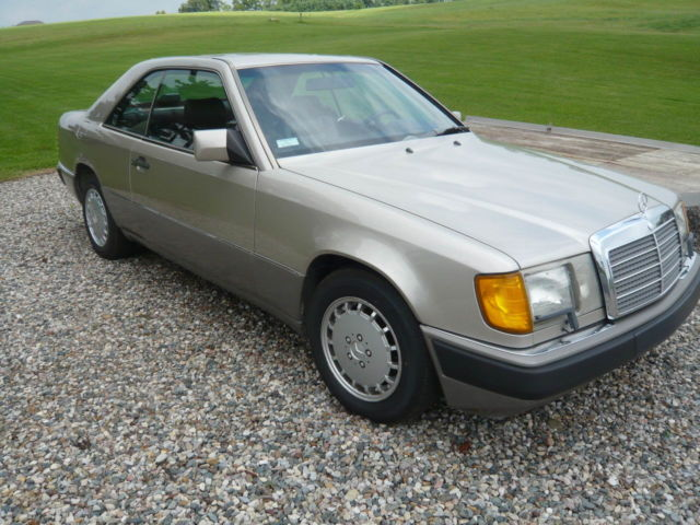 1990 mercedes benz 300ce coupe 2 door no reserve for sale for Mercedes benz 2 door coupe for sale