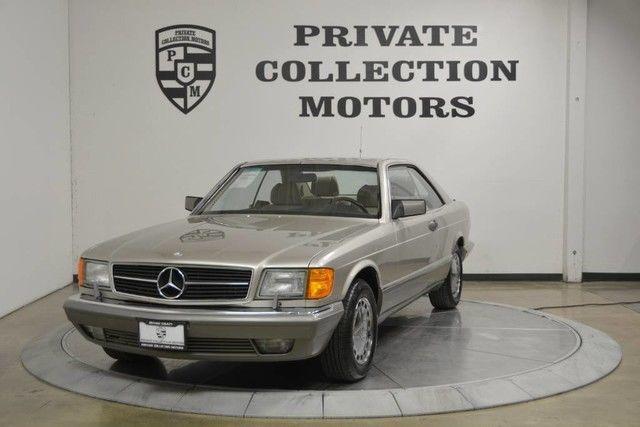 1990 Mercedes Benz 560SEC 39k Original Miles Well Kept Clean