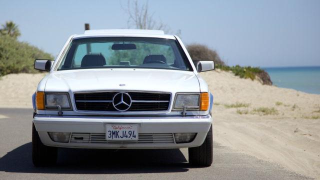 1990 mercedes benz 560sec base coupe 2 door 5 6l for sale for Mercedes benz mission viejo