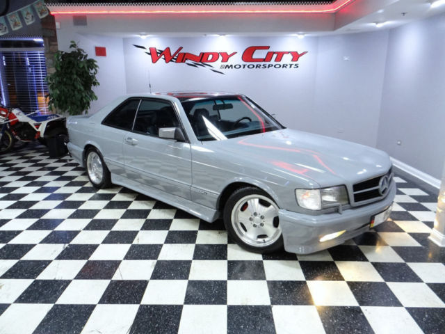 1990 Mercedes Benz 560sec Coupe Amg Body Kit Lorinser