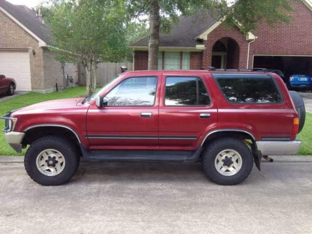 1990 toyota 4runner sr5 v6 5 spd 4 wd sunroof one owner for 1990 toyota 4runner rear window motor