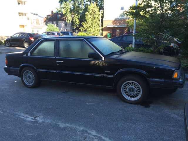 1990 VOLVO 780 BERTONE COUPE BLACK W/TAN INTERIOR for sale in Portland, Maine, United States for ...