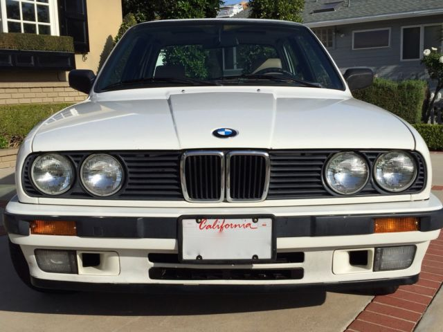 1991 bmw e30 325i 4 door very clean priced to sell for sale in newport beach california. Black Bedroom Furniture Sets. Home Design Ideas