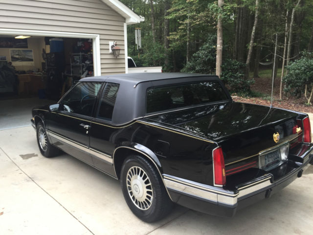 1991 cadillac eldorado triple black for sale in. Black Bedroom Furniture Sets. Home Design Ideas