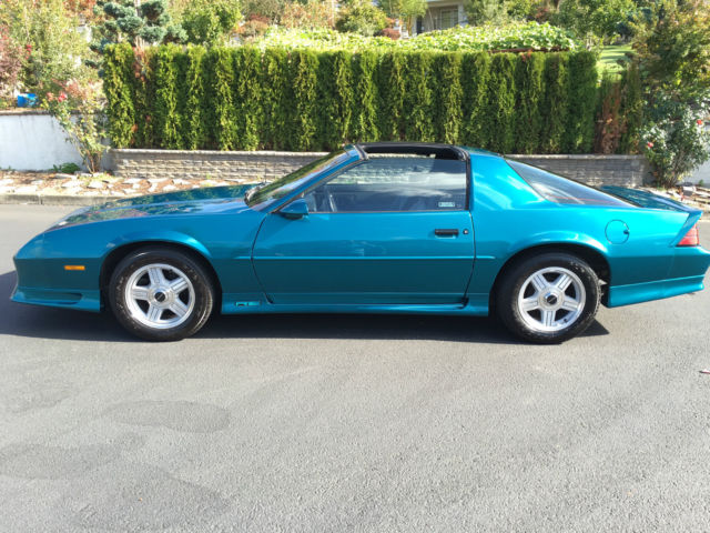 1991 chevrolet camaro rs excellent condition 58k original miles 100 rust free for sale in gresham oregon united states for sale photos technical specifications description classiccardb com