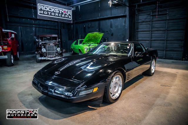 1991 Chevrolet Corvette Coupe 61292 Miles Black 5 7L V8 DOHC