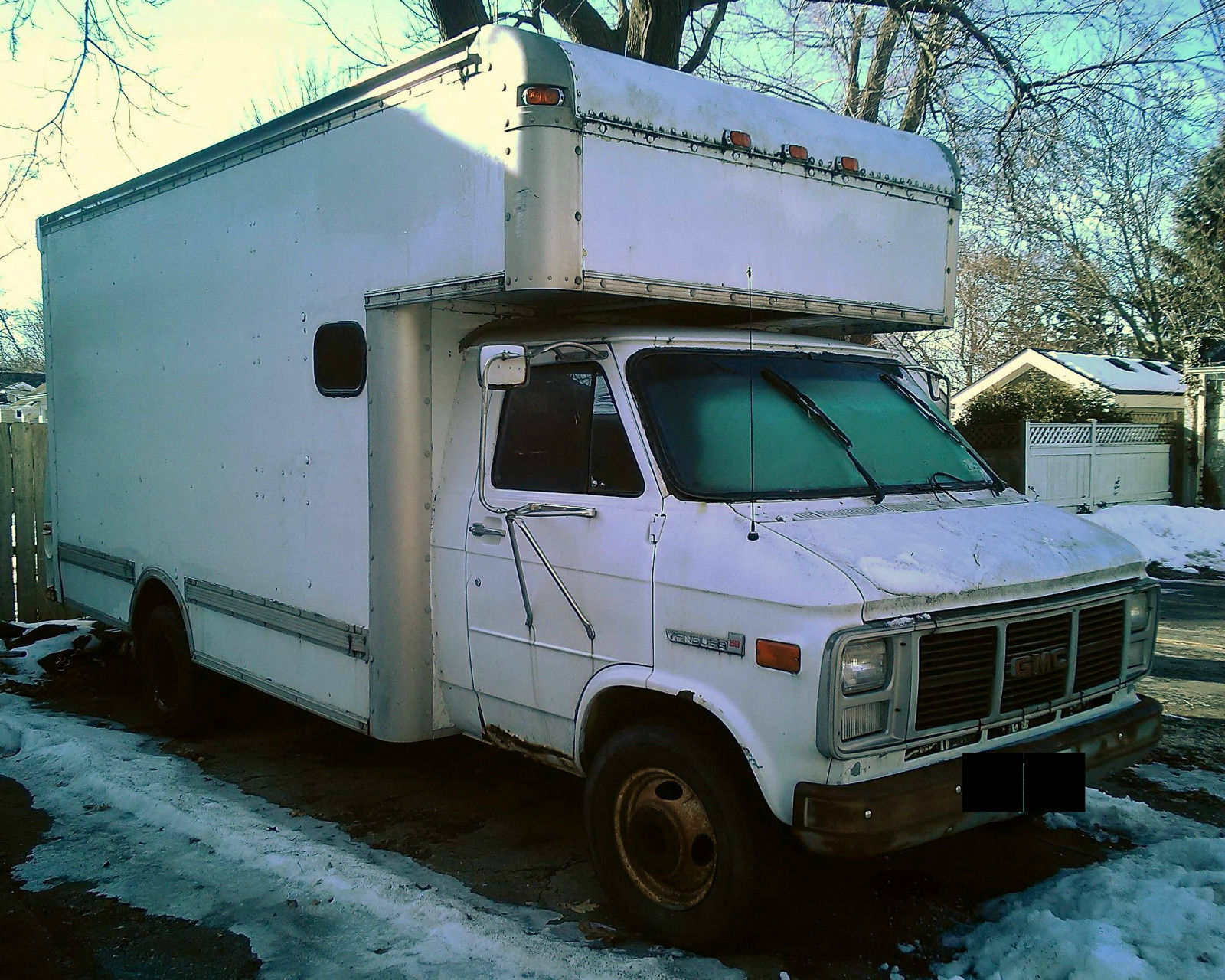 1991 CHEVY CUBE OVER CAB BOX VAN/TRUCK * NEWER 454 ENGINE