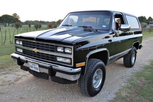 1991 Chevy K5 Blazer 4wd Silverado Survivor 39k Miles