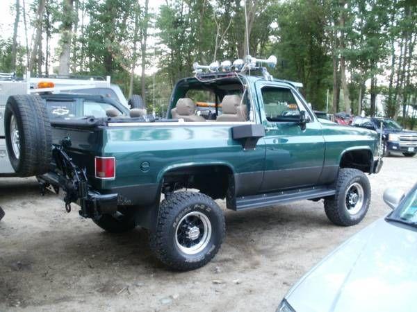1991 Chevy K5 Full Size Blazer Custom 1 Ton 4x4 6 2l