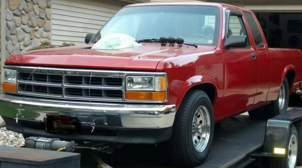1991 dodge dakota tubbed pro street truck with 454 big block chevy th400 auto for sale photos technical specifications description classiccardb com