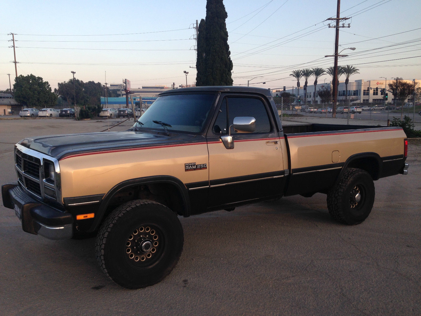1991 dodge ram w250 cummins turbo diesel 4x4 auto thousands invested for sale in redondo. Black Bedroom Furniture Sets. Home Design Ideas