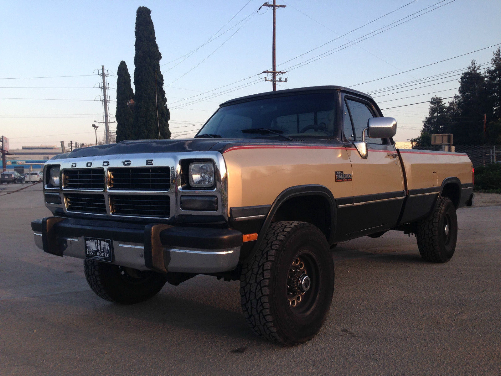 1991 Dodge Ram W250 Cummins Turbo Diesel 4x4, auto ...