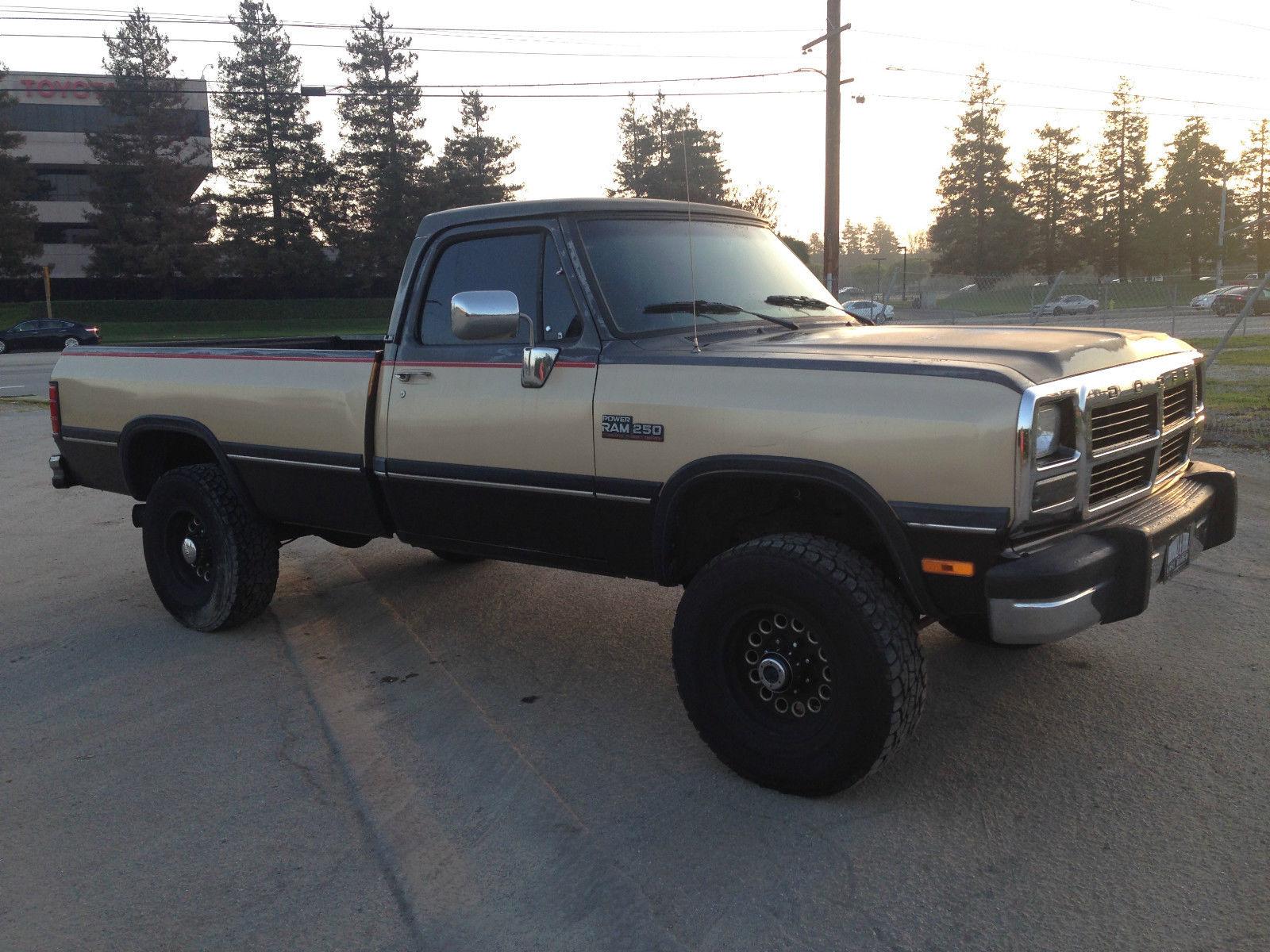 Dodge Ram W Cummins Turbo Diesel X Auto Thousands Invested on 1991 Dodge Truck