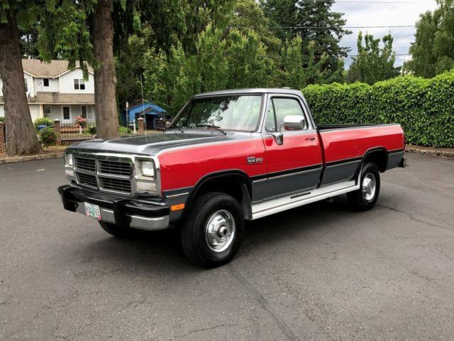 1991 dodge ram w250 reg cab le 5 speed 5 9 39 l 12 valve for Dodge 12 valve cummins motor for sale