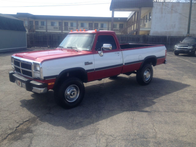 1991 dodge w250 cummins diesel 5 speed 4x4 for sale in richmond indiana united states. Black Bedroom Furniture Sets. Home Design Ideas
