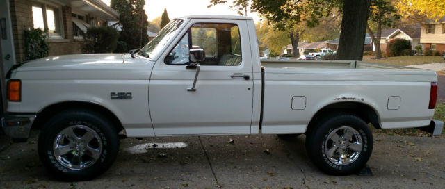 1991 Ford F 150 Short Bed Truck Bronco