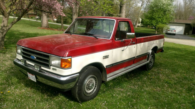 1991 ford 250 truck miles coast west