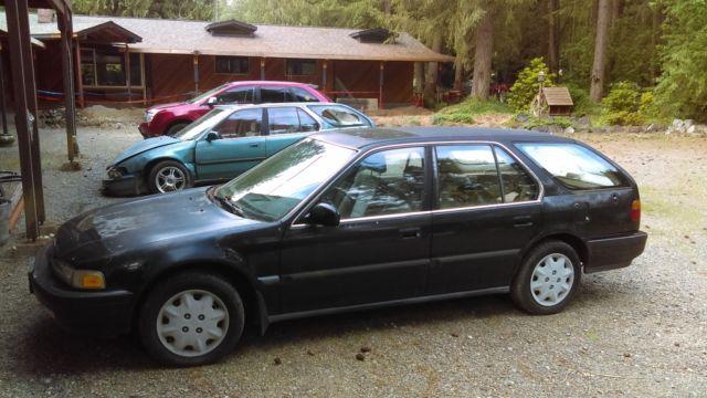 1991 honda accord hatchback wagon. Black Bedroom Furniture Sets. Home Design Ideas