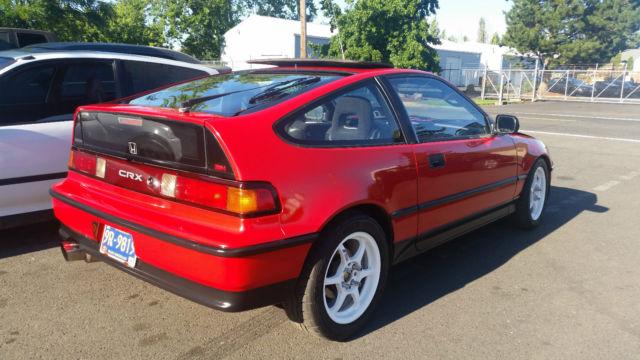 1991 Honda CRX Si & 1991 Honda Civic Crx Si 3-Door 1.8L for sale in Salem Oregon ... Pezcame.Com