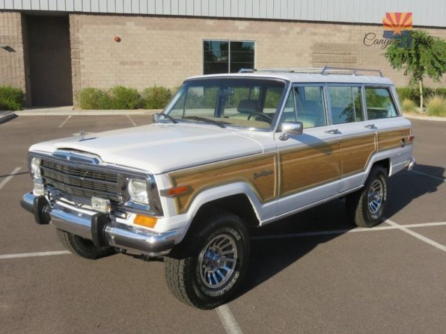1991 jeep grand wagoneer 4x4 360ci v8 fresh restoration. Black Bedroom Furniture Sets. Home Design Ideas