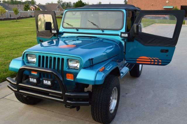 1991 jeep wrangler islander restored new paint new. Black Bedroom Furniture Sets. Home Design Ideas