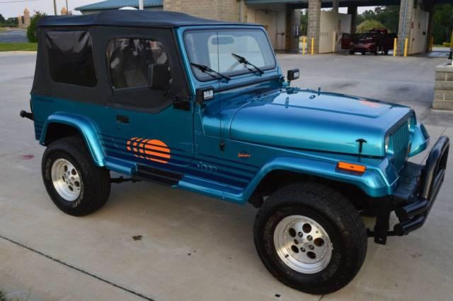 Jeep Wrangler Islander Restored New Paint New Engine New Transmission