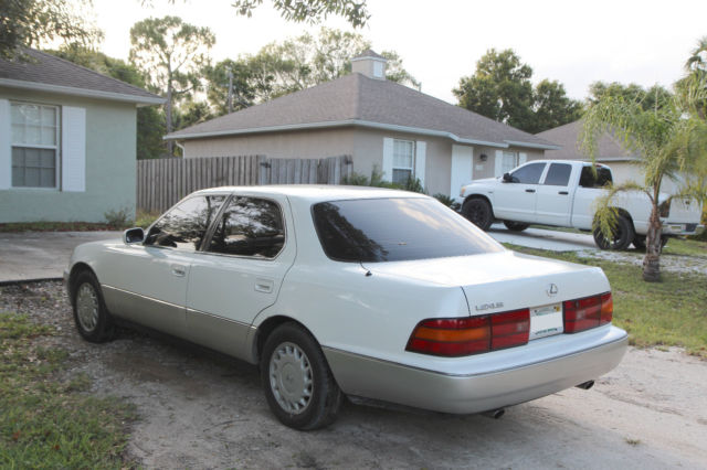 Lexus Ls No Accidents Free Carfax Recent Nd Owner Only K Miles