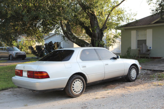 1991 Lexus LS400 No Accidents FREE CarFax Recent 2nd Owner