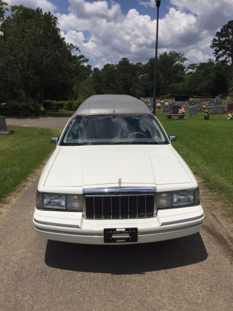 1991 Lincoln Town Car Hearse