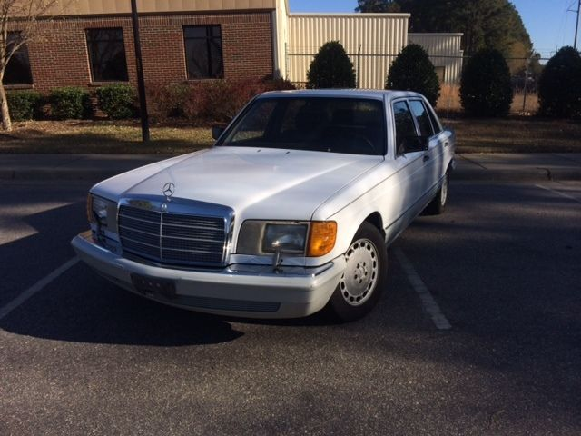 1991 Mercedes 350 Sdl Turbo Diesel For Sale In Raleigh
