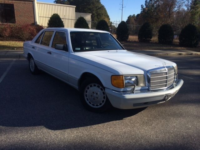 1991 mercedes 350 sdl turbo diesel for sale in raleigh for Mercedes benz raleigh nc sale