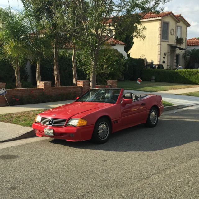 1991 Mercedes Benz 300 SL NO RESERVE 2-Top Convertible