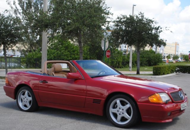 1991 mercedes benz 300sl conv 3 0l 6cyl hard soft top for 1991 mercedes benz 300sl
