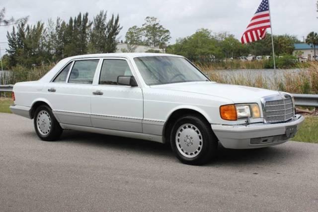 1991 Mercedes Benz 420 Sel W126