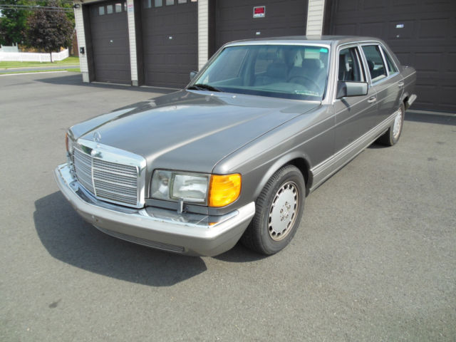 1991 mercedes benz 420sel runs and drives well current pa for Mercedes benz inspection cost