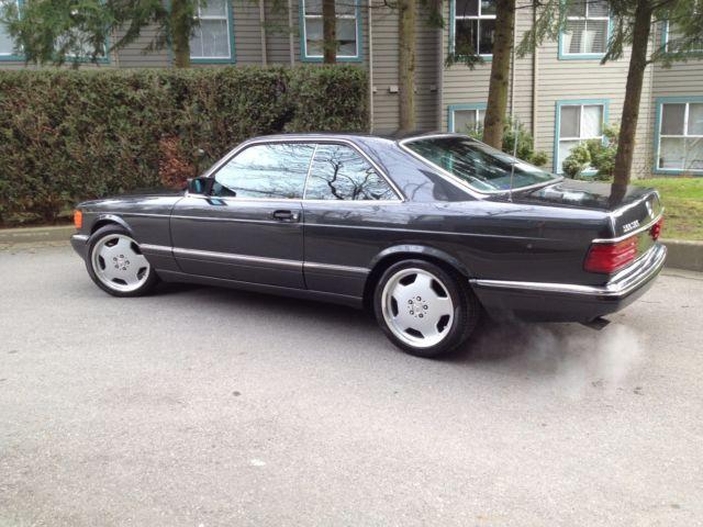 1991 mercedes benz 560 sec euro version for Mercedes benz 560 sec