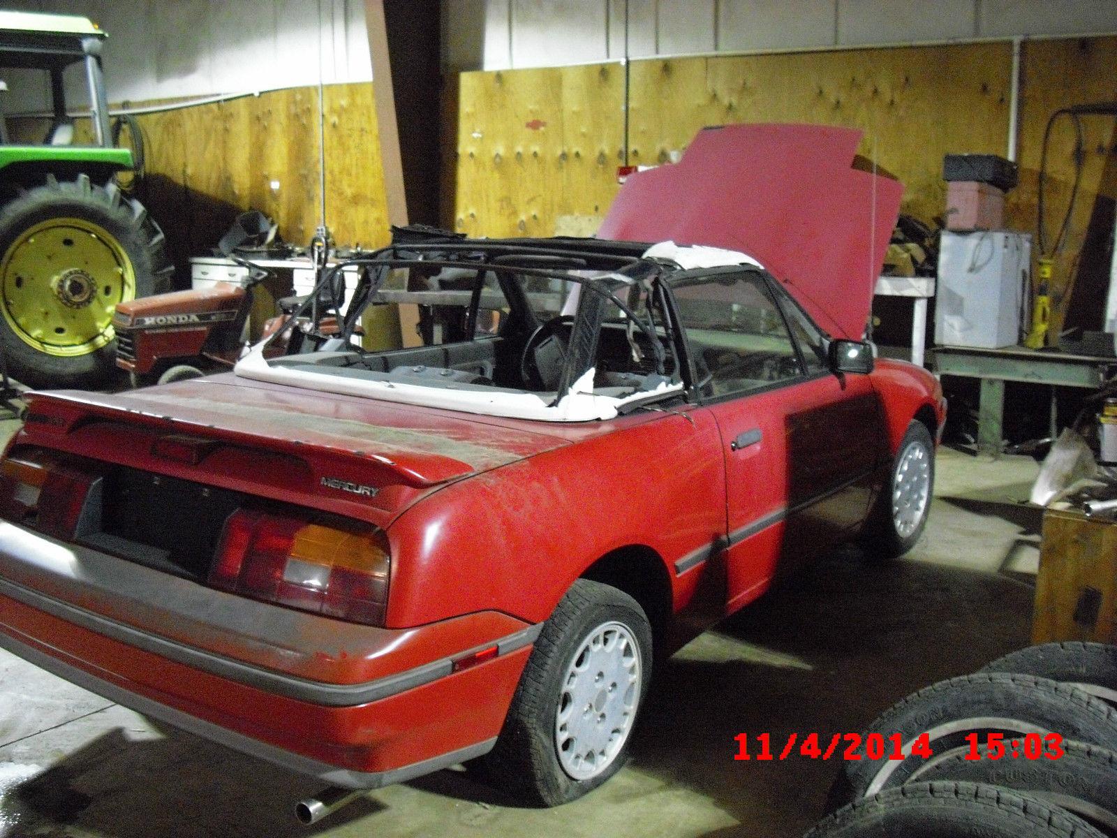 1991 Mercury Capri Parts Diagram Trusted Schematics 1993 Fuse Box Xr2 Convertible 2 Door 1 6l For Sale In Santa Fe