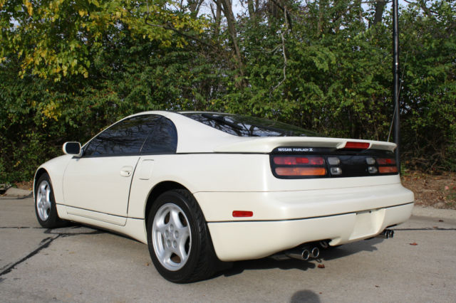 1991 nissan 300zx twin turbo pearl white 49 000 miles like new condition manual for sale in. Black Bedroom Furniture Sets. Home Design Ideas