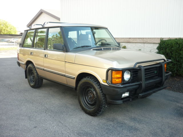 1991 range rover county classic with 77k miles runs. Black Bedroom Furniture Sets. Home Design Ideas