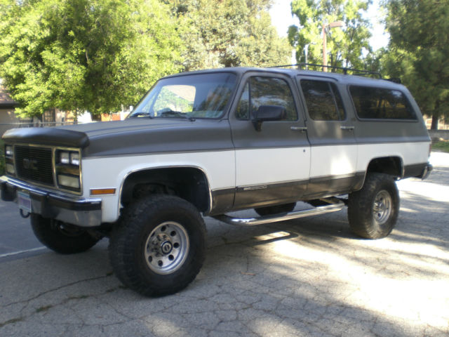 1991 Suburban 4x4 2500 Rust Free California Truck For Sale