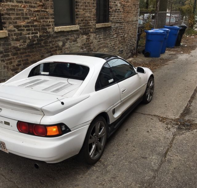 1991 toyota mr2 5 speed rare color combination. Black Bedroom Furniture Sets. Home Design Ideas