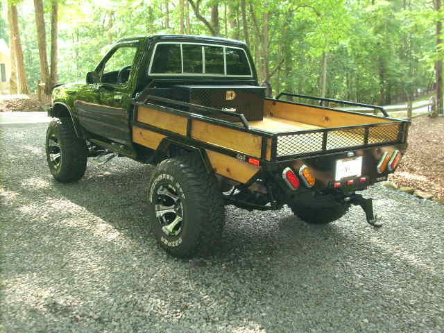 1991 Toyota Pick Up Flatbed For Sale In Ellijay Georgia